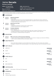 Creative Marketing Resume Marketing Resume Sample Complete Guide 20 Examples