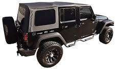 new 2010 2018 jeep wrangler unlimited 4 door replacement soft top tint windows fits