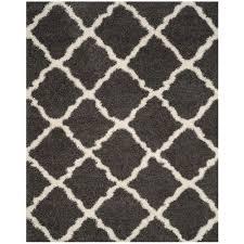 safavieh dallas dark gray ivory 8 ft x 10 ft area rug
