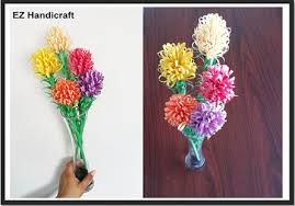 Flower Paper Craft How To Make Paper Flowers Diy Easy Paper Craft Eazy