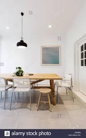 Modernen Skandinavischen Stil Innen Esszimmer Mit
