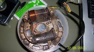 rewrapping stator coil help input motorcycle thailand click on image to open