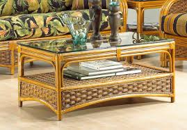 portofino rattan coffee table with ogee glass top not sold alone