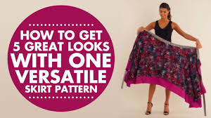 African Skirts Patterns Simple Wrap Twist Tie How To Get 48 Great Looks With One Versatile Skirt