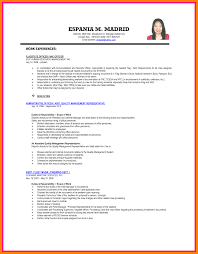 Best Solutions Of Sample Resume Letter For Ojt Hrm Students In