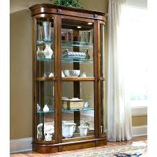 white corner curio cabinet curio cabinets with glass doors corner curio cabinets with glass doors used