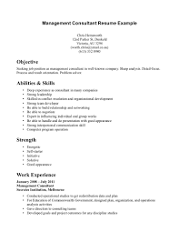 Management Consulting Resume Example Resume Peppapp