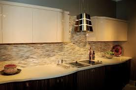 luxury modern kitchen glass backsplash ideas