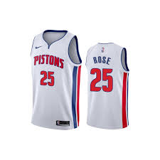 Nike Youth Swingman Jersey Size Chart Detroit Pistons Youth Nike Home Rose 25 Swingman Jersey