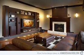 modern TV room ideas. Maria Deschamps Design
