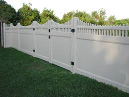 Perfect Vinyl Privacy Fence Ideas Custom Lattice Top Pvc And Inspiration Decorating