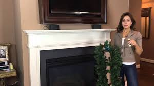 what you need to hang a garland on your mantel for part 1 of 9