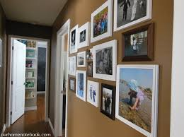 Hallway with Photo Gallery