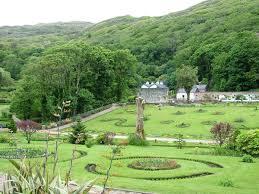 Walled Kitchen Gardens Kylemore Abbeys Victorian Walled Gardens Youtube
