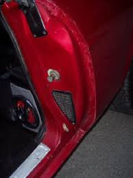 car door jamb.  Door To Car Door Jamb I