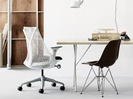 sayl office chair. Contemporary Sayl Small Office With A White Sayl Chair Black Eames Molded Fiberglass  Chair Wire On Office O