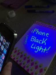 Do Black Lights Show Germs Iphone Black Light 5 Steps Instructables