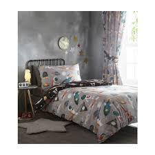 spaceman kids duvet cover bedding set