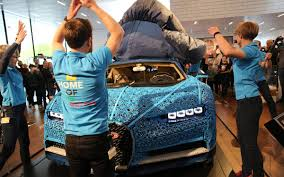Using over a million lego technic pieces — along with 2,304 small lego electric motors — this bugatti chiron can reach speeds of almost 30 km/h. Life Sized Lego Technic Bugatti Chiron Ends World Tour At Lego House The Brick Show