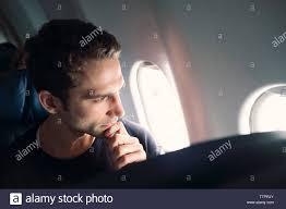 Hand Airplane Window Stockfotos Hand Airplane Window Bilder Alamy