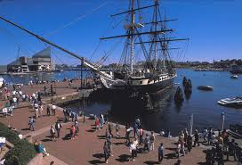 USS Constitution in Baltimore Harbor Photograph by Carl Purcell