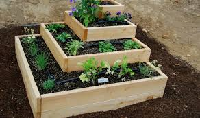 mayan pyramid garden frame plan herb planter plans outdoor