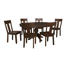 ashley timber and tanning trudell 7 pc round tbl dining rm set 1 jpg