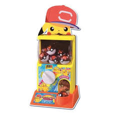 Pokemon Vending Machine Toys Adorable Takara Tomy Pokemon Moncolle Figure Gacha Poke Pokeball Vending