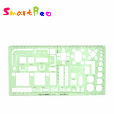 Interior Design Drafting Templates Us 4 94 1 50 Drawing Template Interior Renovation Design Drafting Template Stencil Metric No 4318 In Rulers From Education Office Supplies On