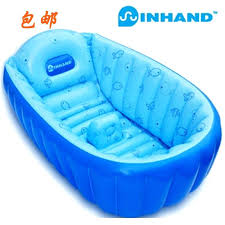 summer baby bath free high quality summer baby kid toddler inflatable bathtub newborn thick green