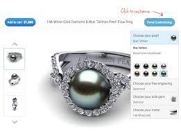 custom pearl ring