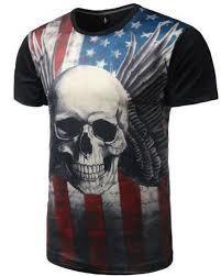 Halloween <b>Mens</b> Casual <b>Short Sleeve Creative</b> Graphic T-Shirts ...
