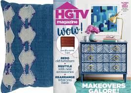 hgtv magazine 2014 furniture. HGTV Magazine\u0027s November 2017 Issue Showcases A Home\u0027s Revitalizing Redecoration Including Surya\u0027s Panta Pillow. Hgtv Magazine 2014 Furniture