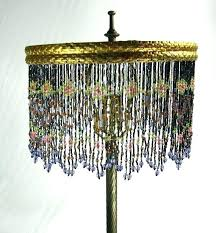 decoration crystal beaded table lamp shades for lamps images