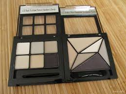 parison of the e l f studio 6 piece geometric eyeshadow palette i e l f back to elf studio makeup clutch palette review