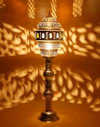 image is loading moroccanbrassfloorstandinglampfabulouscolouredglass brass standing lamp l69