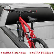 Details about Pickup Truck Bed Bike Carrier Holder Side Mount Rack Bicycle Clamp Strap Upright