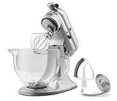 kitchenaid 4 5 quart tilt head stand mixer. top 5 kitchenaid ksm105gbcmc 5-qt tilt-head stand mixer with glass bowl a review kitchenaid 4 quart tilt head t