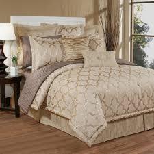 quartz quatrefoil trellis comforter bedding austin horn king h02