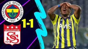 Fenerbahçe 1-1 Sivasspor Maç Özeti ve Golleri İzle Youtube Bein Sport FB  Fener Sivas Penaltı Pozisyonu Özet- - makrokedi