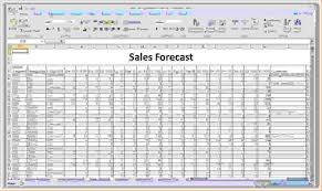 Forecasting Spreadsheet Forecast Spreadsheet Spreadsheet Software Spreadsheet For
