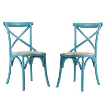 light blue dining chairs. Aqua Dining Chairs Blue Light Elm Wood Rattan Vintage Style . S