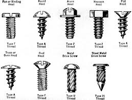 Self Tapping Screw Thread Chart Screws Styles Sizes And Shapes November 1960 Popular