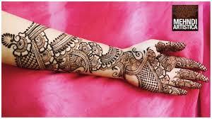 Arabic Mehndi Designs For Right Hand 15 Best Arabic Mehndi Designs For Full Hands Images 2020