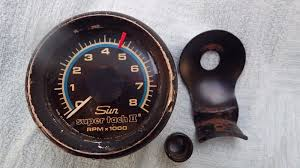 1960s blue line 8k sun super tach tachometer 2 amc chevy pontiac 1960s blue line 8k sun super tach tachometer 2 amc chevy pontiac ford mopar 4 4 of 10