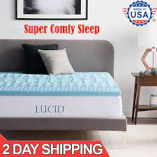 rv mattress topper short queen size 2 5