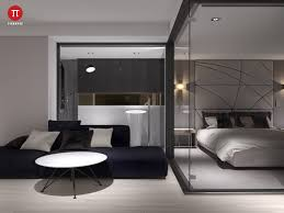 bedroom modern lighting. Personable Minimalist Monochromatic Homes With Modern Set A Patio Charming 3 Bedroom Lighting N