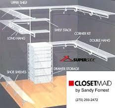 closetmaid wire closet shelving wire closet organizer wire closet shelving closetmaid wire shelving specifications closetmaid wire