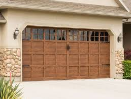 availing garage door repair services after re