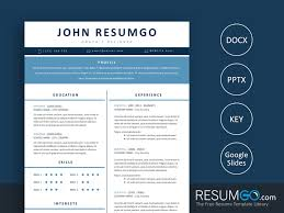Elpida Simple Resume Template Resumgocom